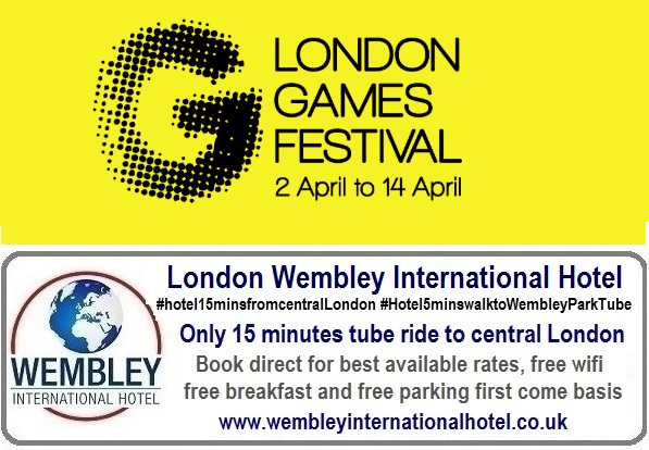 Free Family Day London Games Festival 13 April 2019