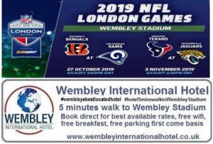 NFL at Wembley Stadium Bengals v Rams 27 Oct 19