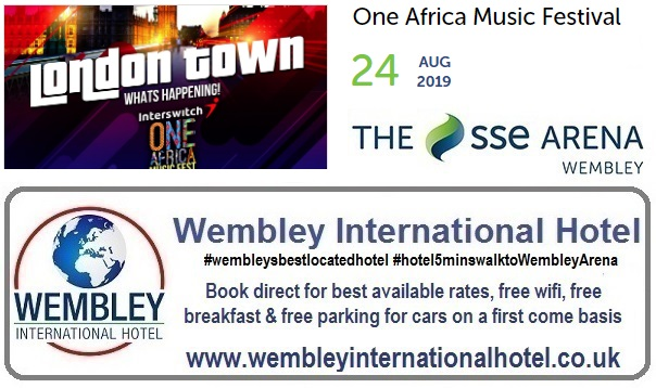 Wembley Africa Music Festival Aug 2019