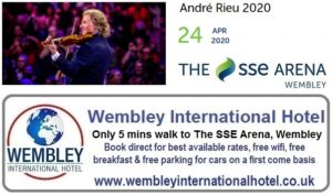 Wembkey Arena Apr 2020 Andre Rieu