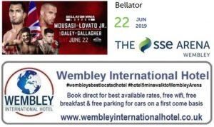Wembley Arena Bellator June 2019