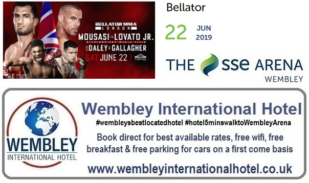 Wembley Arena Bellator June 2019