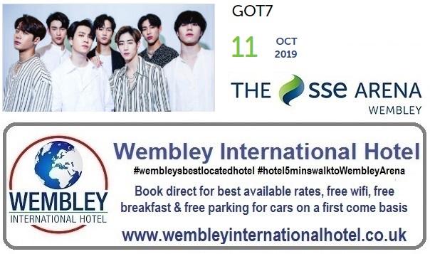 Wembley Arena GOT 7