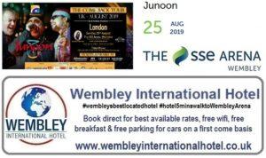 Junoon Wemblley Arena Aug 2019