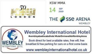 Mixed Martial Arts Wembley Arena 2019