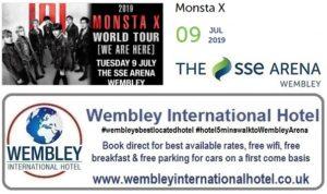 Wembley Arena K Pop MonstaX