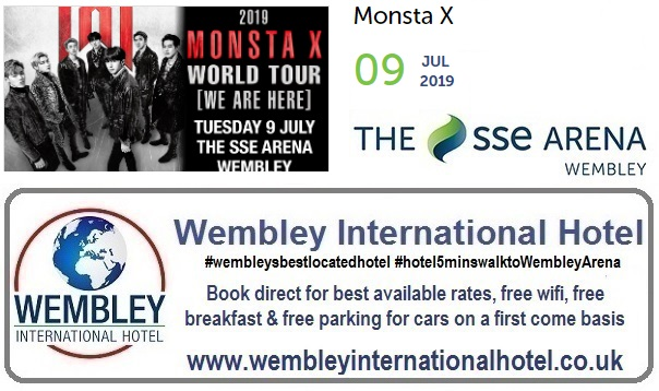 Wembley Arena K Pop MonstaX