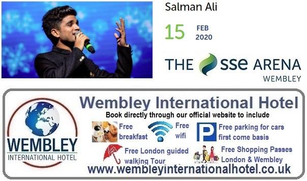 Wembley Arena Salman Ali