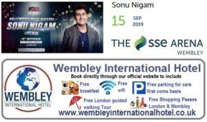 Wembley Arena Sonu Nigam