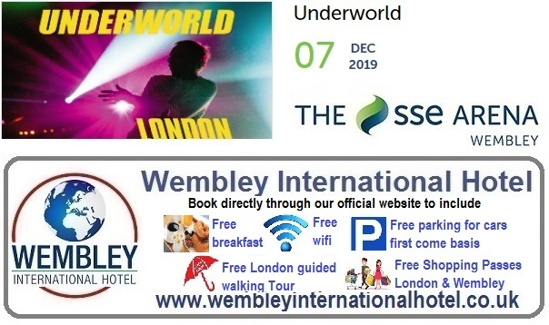 Wembley Arena Underworld 2019