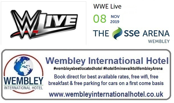 Wembley Arena WWE Live 2019