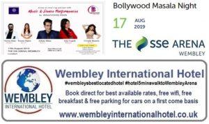 Bollywood Masala Night Wembley Arena 2019