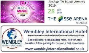 Wembley Arena Brit Music Awards Sep 2019