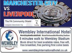 Liverpool v Man City Community Shield 2019