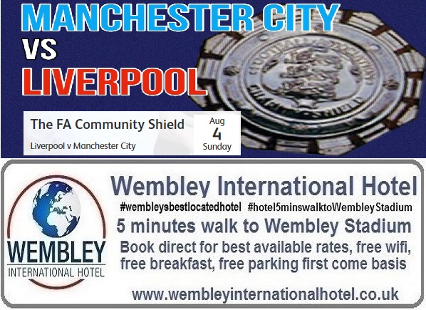 Liverpool v Man City Community Shield 2019