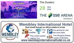 Jamaican Rythym & Blues at The SSE Arena Wembley 2020