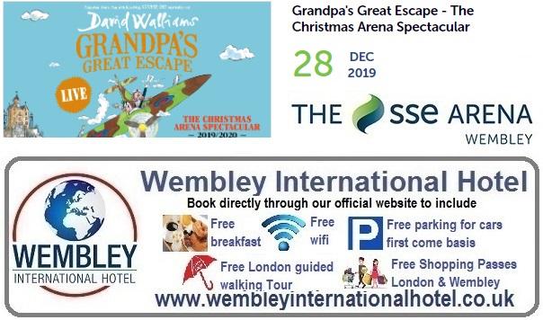 Grandpas Great Escape Wembley Arena