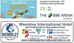 Wembley Arena Grandpas Great Escape