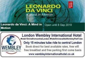Leonardo Da Vinci at the British Library until Sep 2019