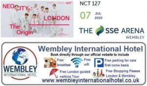 K-Pop Wembley Arena NCT 127