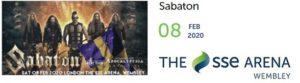 Sabaton at The SSE Arena, Wembley 2020