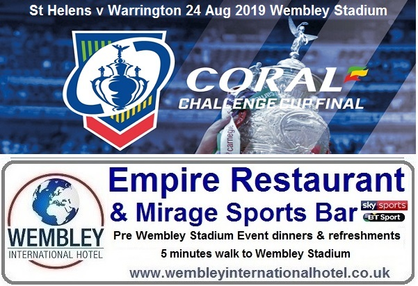 Rugby League Challenge Cup 2019