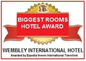 Largest hotel rooms Wembley