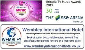 Wembley Arena Brit Asia Music Awards 2019