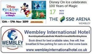 Wembley Arena Disney On Ice Nov 2019
