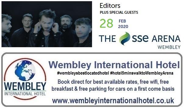 Editors at The SSE Arena Wembley