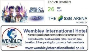 Wembley Arena 2020 Ehrlich Brothers