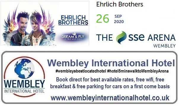 Wembley Arena 2020 Ehrlich Brothers