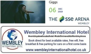 Giggs at The SSE Arena Wembley