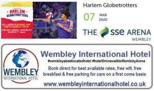 Wembley Arena Harlem Globetrotters