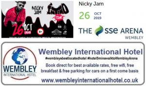 The SSE Arena Wembley Nicky Jam