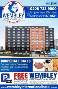 Corporate rates Wembley International Hotel
