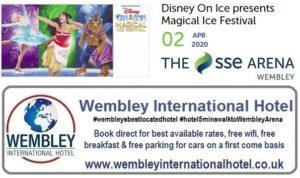 Wembley Arena Apr 2020 Disney Magic Ice Festival