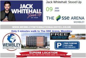 Wembley Arena Jack Whitehall Jan 2020