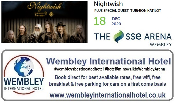 Wembley Arena 2020 Nightwish