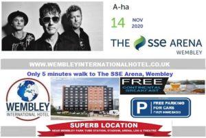 Wembley Arena Nov 2020 AHA