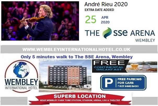 Wembley Andre Rieu 25 April 2020