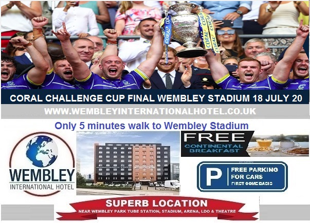 Wembley Stadium July 2020 Coral Challenge Cup Final