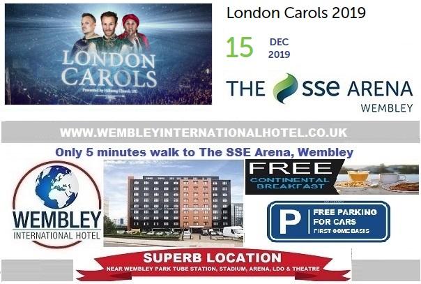 Wembley Arena Christmas Carols 2019