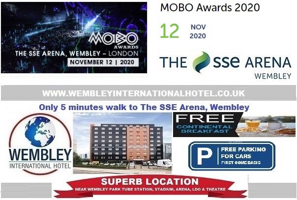 Wembley Arena Nov 2020 MOBO