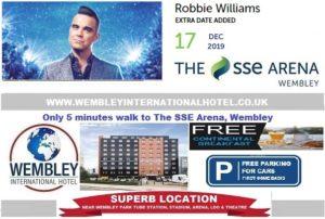 Arena Wembley Robbie Williams 17 Dec 2020