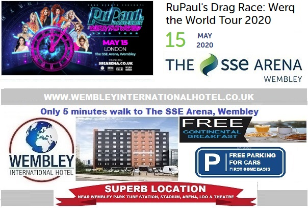 Wembley Arena May 2020 RuPaul