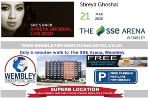 Wembley Arena March 2020 Shreya Ghoshal