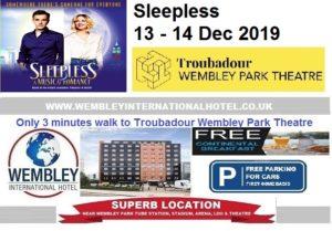 Wembey Park Theatre Sleepless