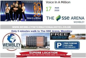 Wembley Arena Voice in a Million 17 Mar 2020