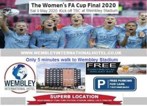 Wembley Stadium May 2020 Women's FA Cup Final